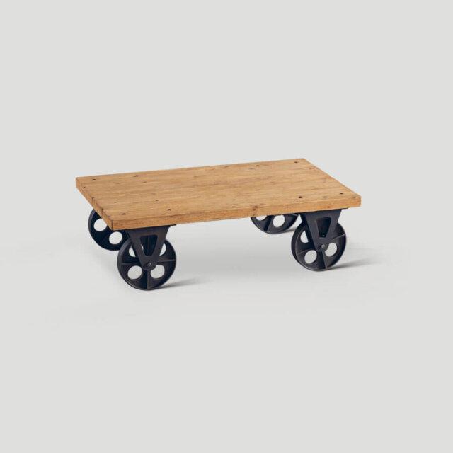 Tavolino da salotto con ruote