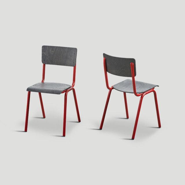 Set 4 sedie impilabili