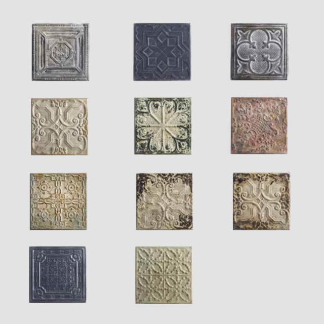 Set 11 pezzi decorazione muro