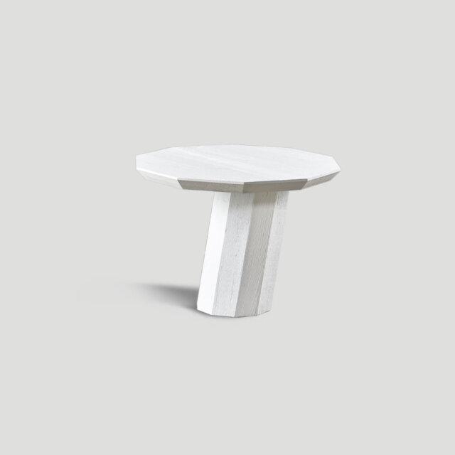 Tavolino tondo geometrico