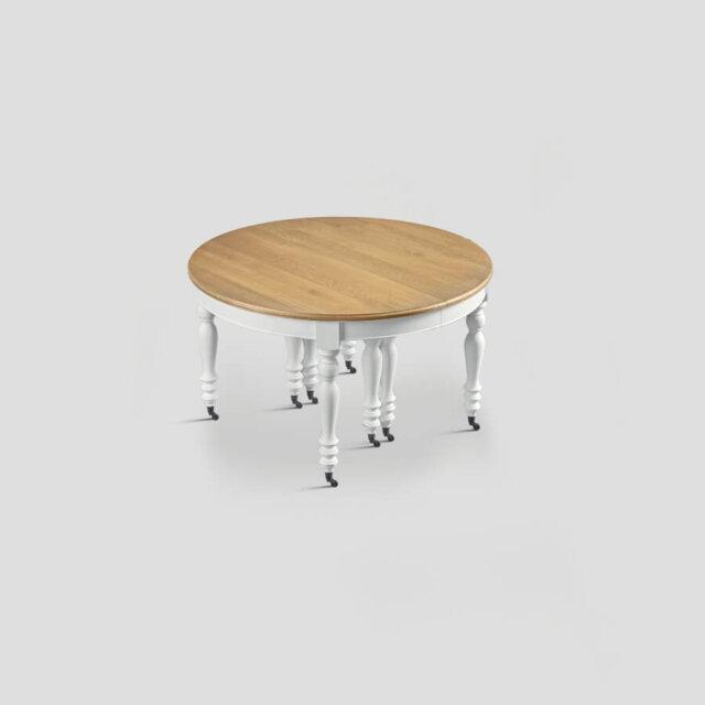 Tavolo tondo estensibile 130/330 cm