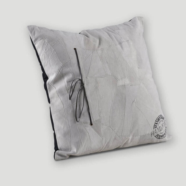 Cuscino in pelle 60x60 cm