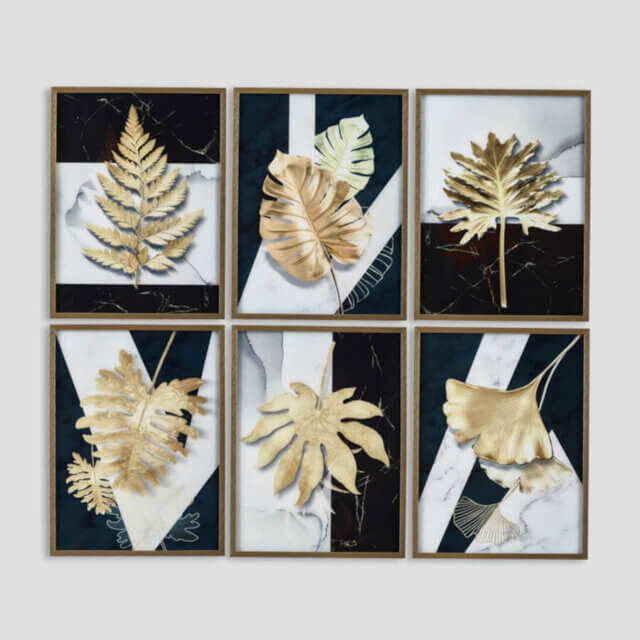 Set 6 quadri
